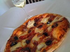 Mmm...pizza...