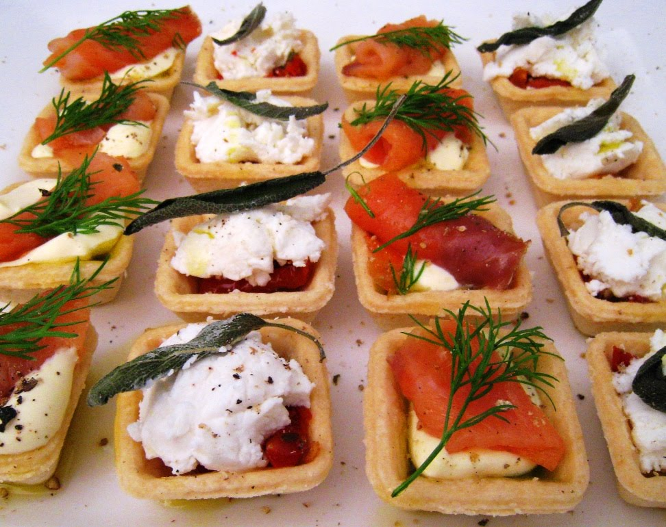 The Savoury Canapes Went Down A Treat