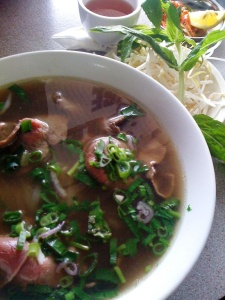 the pho tai at Tra Vinh is most delicious