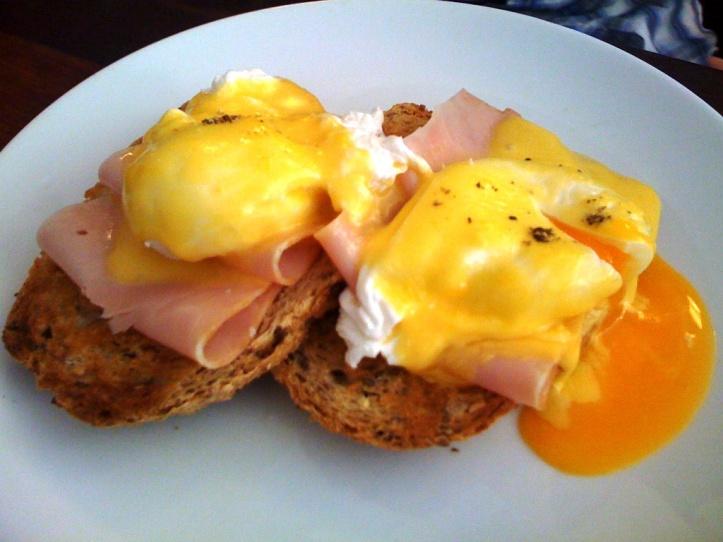 beautiful Eggs Benedict