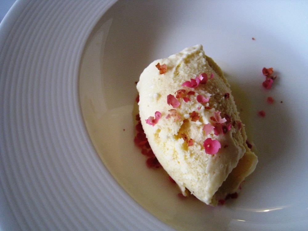 pink peppercorn icecream