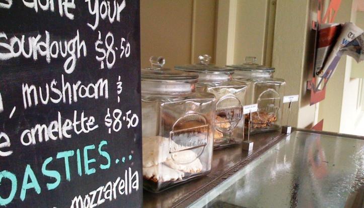 Zebba menu & cookies