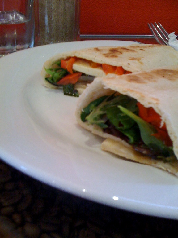my yummy scrummy wrap of healthy deliciousness