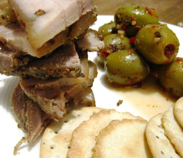 yummy leftover pork belly