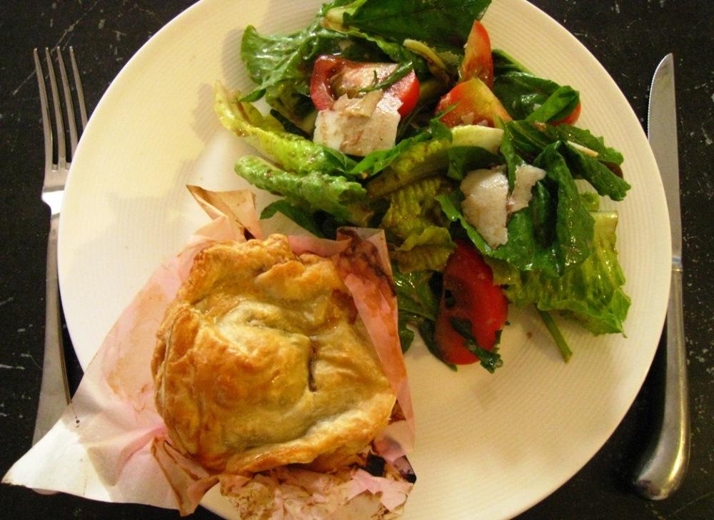 pie & salad