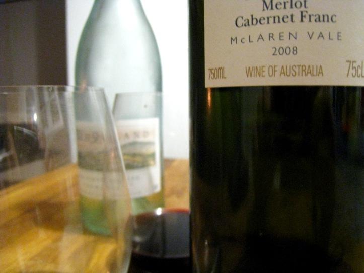 wines close up