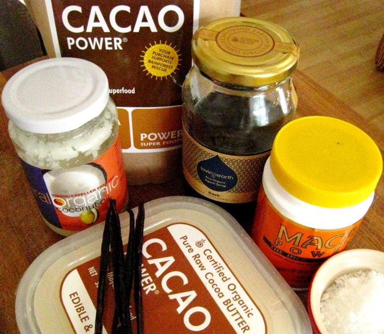 the base ingredients