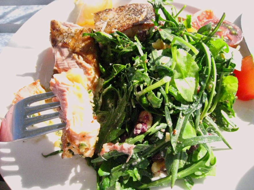 the green salad