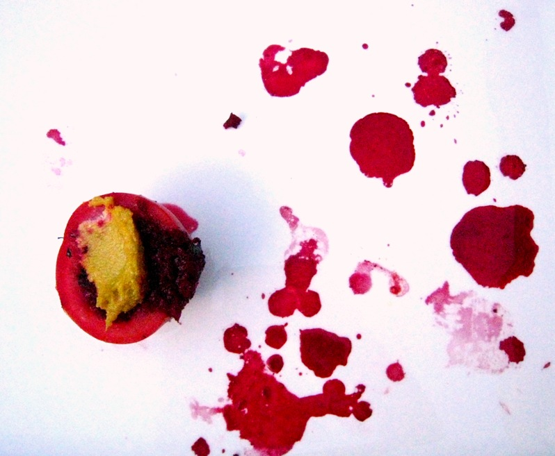 the aftermath; quite artistic, really