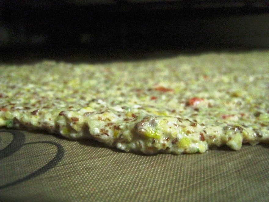 sprouted pizza base