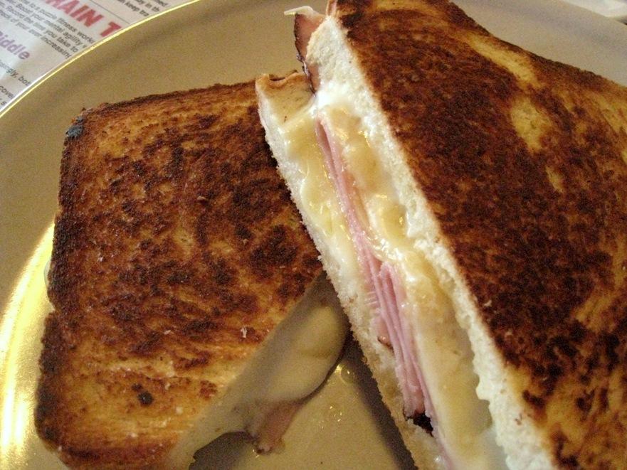 Matt's toasted sandwich