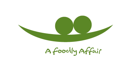 A Foodly Affair's logo - yay me!