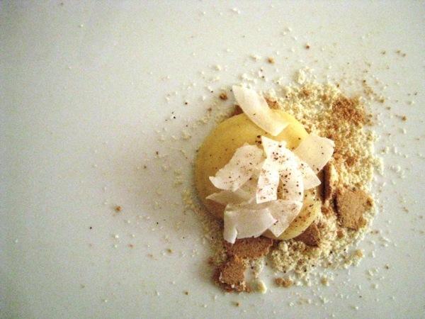 lemon tart...deconstructed