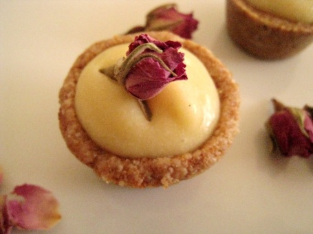 pretty little raw lemony petit fours