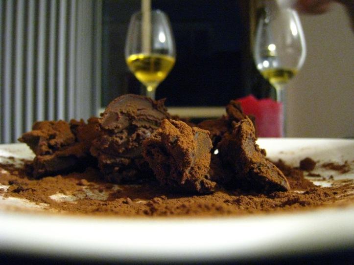MYO choc truffles yum yum