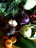 my fruit-(and vegie-)ful markets haul
