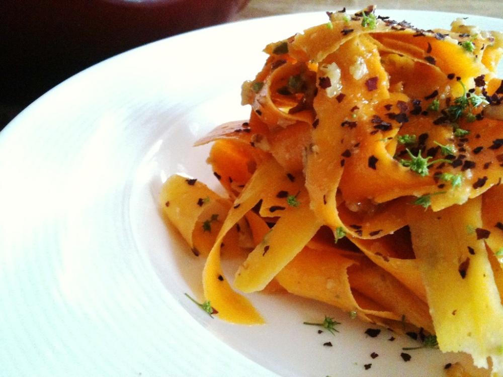 butternut pumpkin pasta