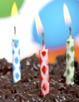 happy birthday to me, today I am 3!