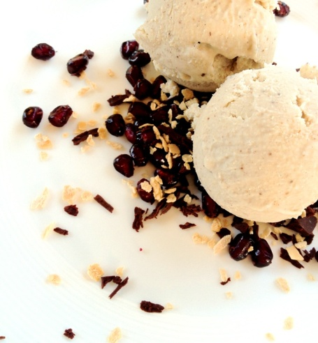 cashew vanilla icecream